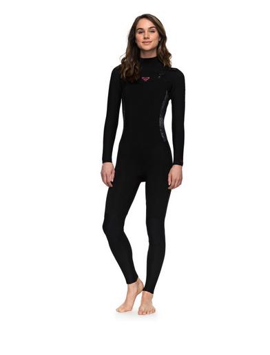 3 2mm Syncro Serien Roxy Wetsuits Kombination Surf Zip Brust ERJW103025