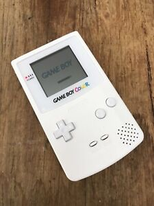 Nintendo-GameBoy-Color-Refurbished-Colour-Game-Boy-Handheld-GBC-Console-White