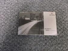 2002 Acura EL Original Owner Owner's User Manual 1.7L Touring Premium Limited