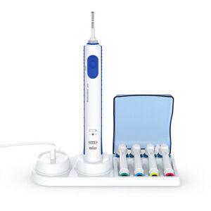 Supporto per 4 testine per spazzolino elettrico White