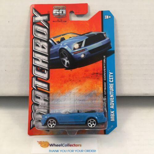 Matchbox E38 BLUE Ford Shelby GT500 Convertible