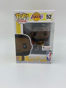 7b52af9d6e5 FUNKO POP! NBA LOS ANGELES LAKERS LEBRON JAMES FOOT LOCKER EXCLUSIVE ...