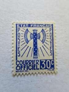 FRANCE-1943-SERVICE-n-2-neuf-cote-40-e-Cq284