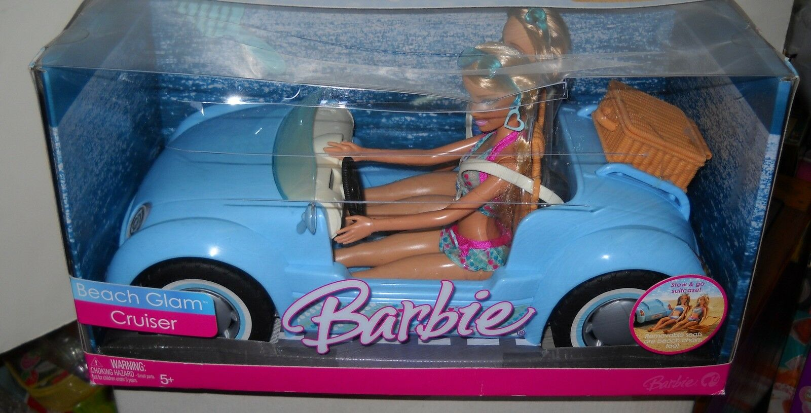 Nuevo En Caja Mattel Beach Glam Cruiser con 2 muñecas
