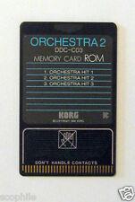 Korg ROM Memory Card Orchestra 2, DDC-C03, for DDD-1 & DDD-5 Drum Machines