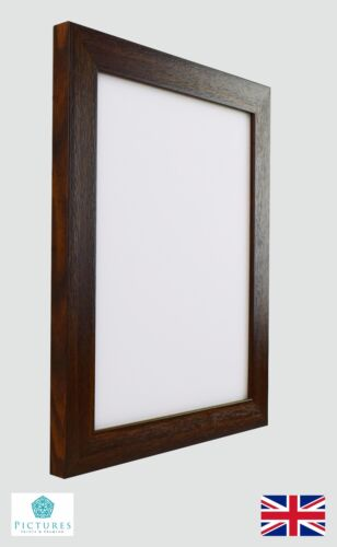 Walnut Photo Picture Poster Panoramic Frames Various sizes 28mm Range Frame Size