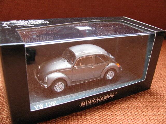 1 43 MINICHAMPS VW Volkswagen 1200 Coccinelle (1983) Diecast