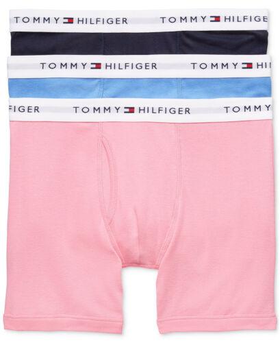 NEW 3 Pk TOMMY HILFIGER Men/'s 100/%Cotton Classic BOXER BRIEFS $39.5 S M L XL 2XL