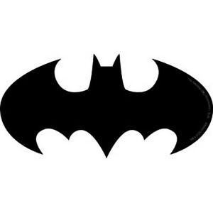 "Batman Logo - Silhouette Sticker - 2"" x 5"" | eBay Batman Silhouette"