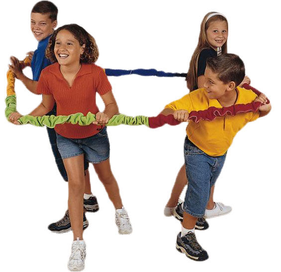 Group Loop 5m, 16' co-operaband, multi player activity game, team building
