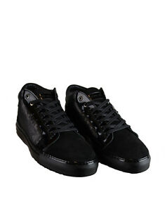 Men-039-s-Android-Homme-039-Propulsion-039-Mid-Top-Sneakers-Black-AHFW002