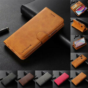 For Huawei P30 P20 P9 Lite Mate 20 Pro Case Magnetic Flip Wallet Leather Cover