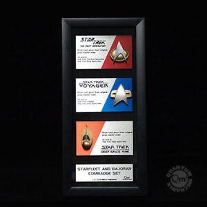 Communicator-Pin-Set-Star-Trek-offizielle-original-Replica-limited-Edition