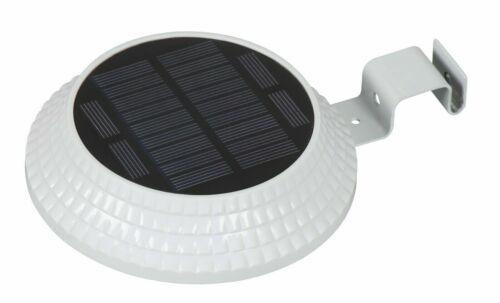 1//2//4 Pack Solar LED Light Outdoor Garden Security Wall Fence Gutter Yard Lights
