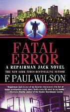 Repairman Jack: Fatal Error 14 by F. Paul Wilson (2011, Paperback)