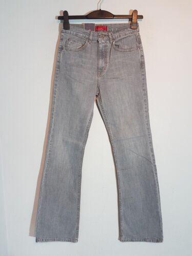 """CROSS Damen Stretch Jeans /""""B-447-020/"""" Straight Leg  W27 ; W31 ; W33  grau NEU"""