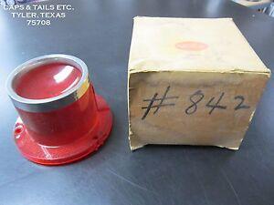 1961-Pontiac-Starchief-taillight-lens-Glo-Brite-842-NOS-GM-5952363-LH-TMC-767