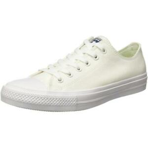 Converse Chuck Taylor All Star II Ox Bianco Tessile Trainers