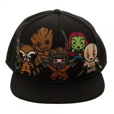 OFFICIAL MARVEL COMICS GUARDIANS OF THE GALAXY KAWAII CARTOON SNAPBACK CAP (NEW)