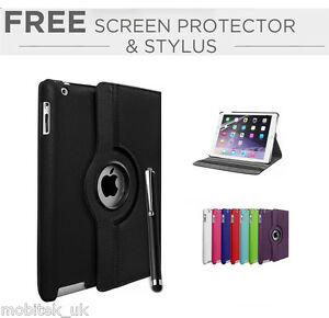 360-Leather-Rotating-Flip-Smart-stand-Case-Cover-For-New-iPad-2018-9-7-034-inch