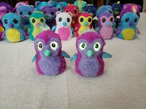 Spin-Master-Hatchimals-Penguala-Interactive-Purple-Pink-Lot-of-2-Fast-Ship
