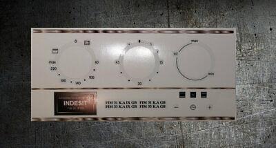 FIE 36 K.B GB compatibile forno Pannello Fascia adesivi. INDESIT FIE 31 K.B GB