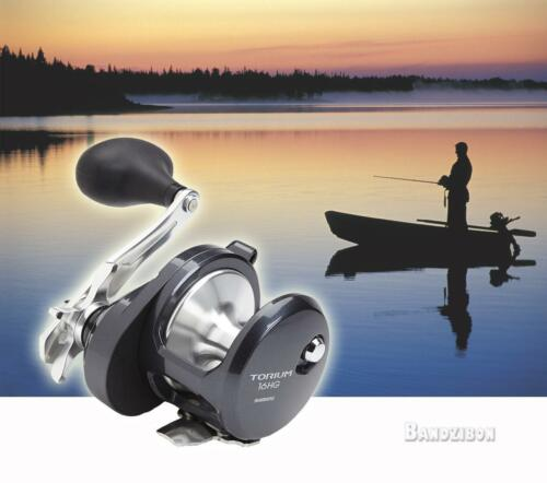 Shimano Torium 16 HG AL Fishing Reel Multiplier Star Drag Sea Lake Boat Tackle