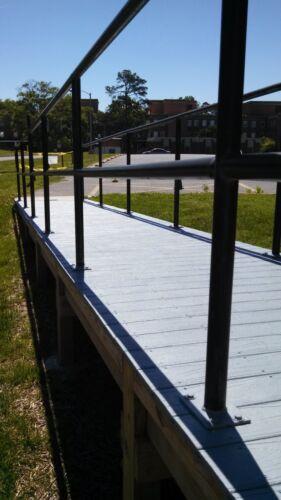 Non Slip Anti Skid Epoxy Paint For All Surfaces Non Haz Dura Grip W//B Quart
