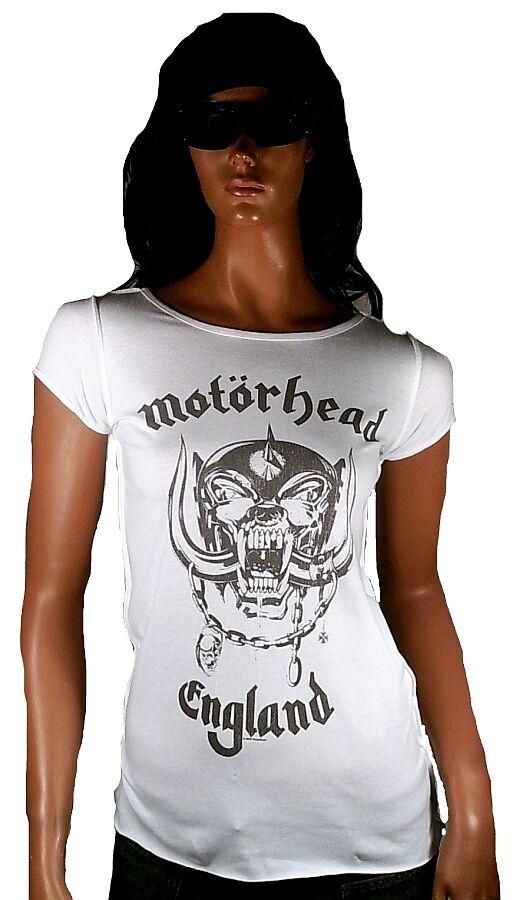 AMPLIFIED Official MOTÖRHEAD ENGLAND Skull Rock Star Vintage Designer T-Shirt M