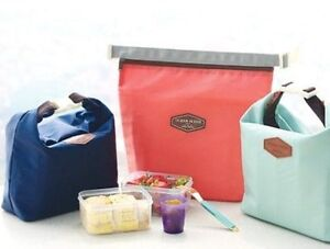 New-Insulated-Pouch-Bag-Cool-Bag-Cooler-Lunch-Box-Bag-in-3-colours