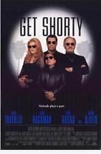 GET SHORTY Movie POSTER 11x17 John Travolta Gene Hackman Danny DeVito Rene Russo