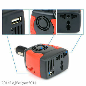 12v car cigarette lighter socket splitter dual usb charger power adapter outlet 5