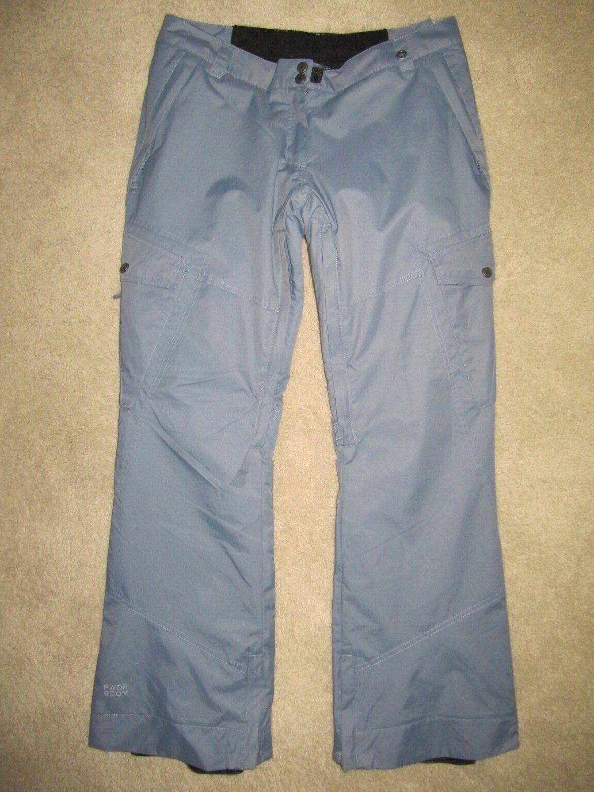 PWDR ROOM  Snowboard Ski Pants - Size M (32-36  waist)(31.5  leg)