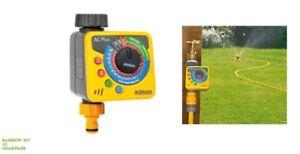 Garden Water Timer Hozelock Aqua Control 1 Plus Flexible Water Timer Plus NEW