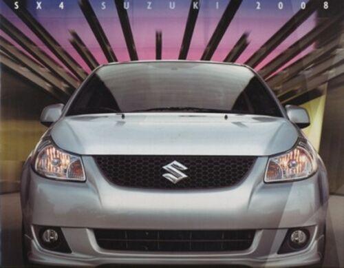 2008 Suzuki SX4 Original 24-page Car Sales Brochure Catalog Book