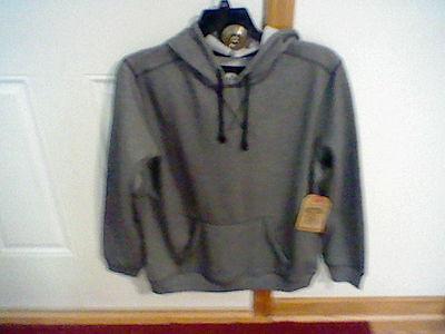 Route 66 Men/'s Hoodie Jacket Striped Sweatshirt Bomber warm Faux Sherpa fleece
