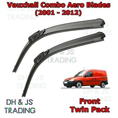 """Onwards BRAND NEW FRONT WINDSCREEN WIPER BLADES 24/""""16/"""" Vauxhall Combo 2012"""