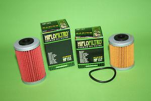 HF157-HF155-Olfilter-Hiflo-Satz-KTM-EXC-SMR-450-525-560-Sparpack-Doppelpack