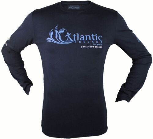 S Navy Chase vos rêves T Shirt unisexe Atlantic Irlande surf wear Co L