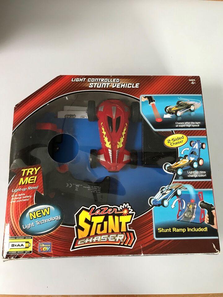 Laserstyret stuntbil, fjernstyret, Lazer Stunt Chaser