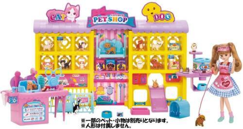 Takara Tomy Licca Doll Dog Cat Pet Trimmer Pet Shop EMS w// Tracking NEW