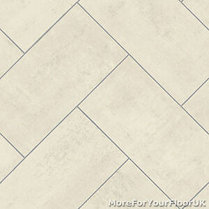 Image Is Loading Pale Herringbone Diagonal Tile Vinyl Flooring Kitchen Bathroom