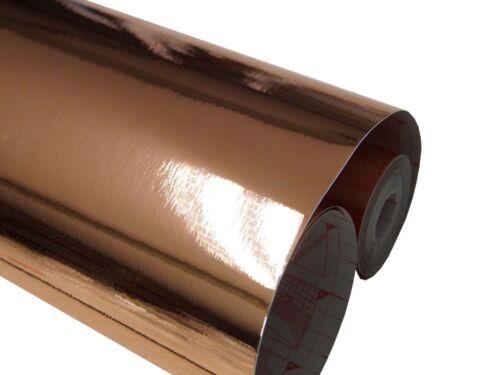 17€//m² Metallic Tapete dcfix Spiegel Selbstklebefolie Glanz Gebürstet Klebefolie