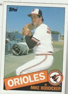 FREE-SHIPPING-MINT-1985-Topps-225-Mike-Boddicker-Orioles-PLUS-BONUS-CARDS