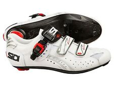 Sidi Genius 5-Fit Carbon Road Shoes Size UK 11,5 / EU 48 WHITE