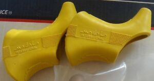 1 Pair NOS MODOLO 920 Brake Hoods Yellow NOS fit campagnolo & others L'Eroica