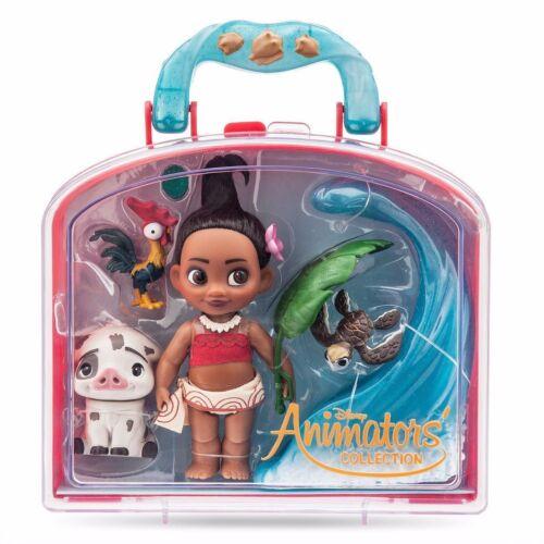 Disney Animators Collection Moana Mini Doll Play Set 5 Inch