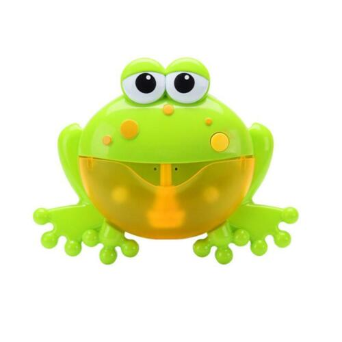 Automatic Crab Bubble Machine Musical Bubble Maker Bath Baby Toy Fun Bath Shower