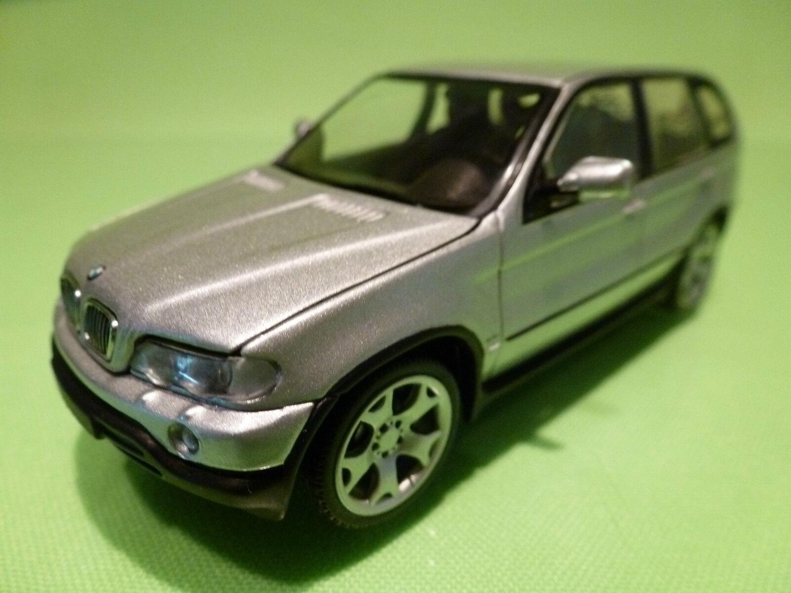 comprar barato MINICHAMPS  BMW X5 - 2x EXHAUST - plata plata plata gris 1 43 - RARE SELTEN - EXCELLENT  100% garantía genuina de contador