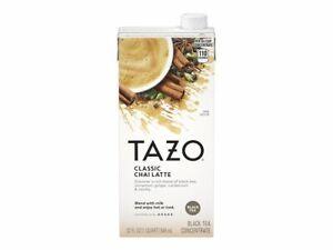 Tazo Classic Chai Latte - Tea concentrate - black - 32 fl.oz - d